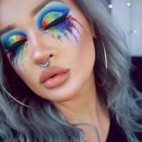 Cute Halloween Makeup Looks.Pretty Halloween Makeup Ideas Mermaid Glitter Gems