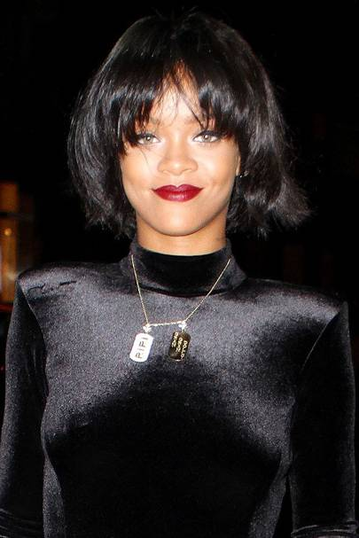 Rihanna Hair Hairstyles Red Hair Short Hair And Curly Styles