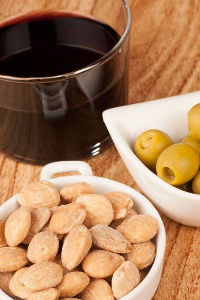 Red Wine and Almonds