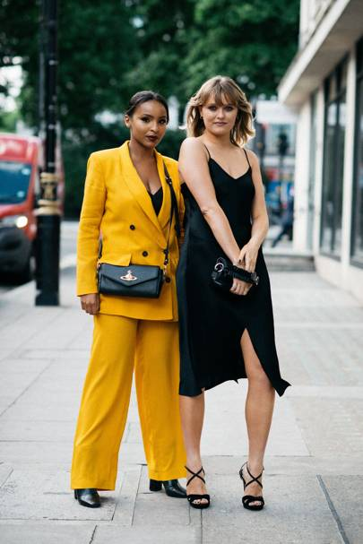 Sagal Mohammed (left) and Ciara Sheppard