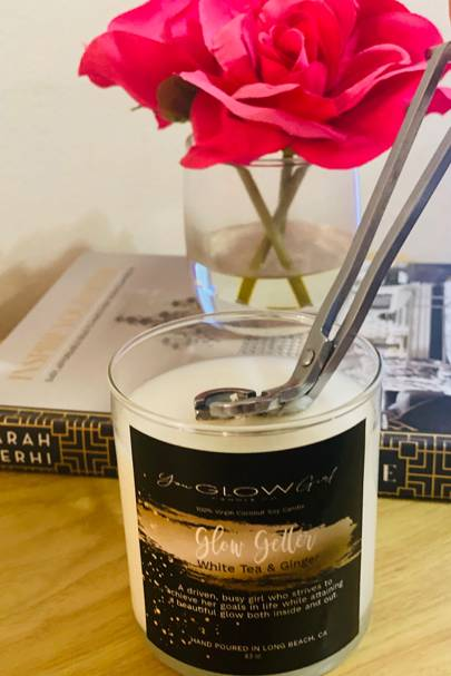 Glow Getter Candle by You Glow Girl Candle Co.