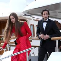 Adrien Brody and Lara Leito