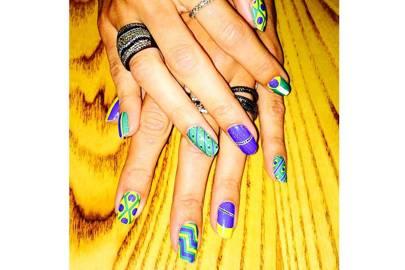 World Cup Nail Art England Nail Art Ideas And Tips Glamour Uk