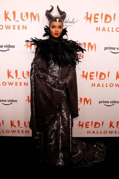 Halima Aden as Maleficent