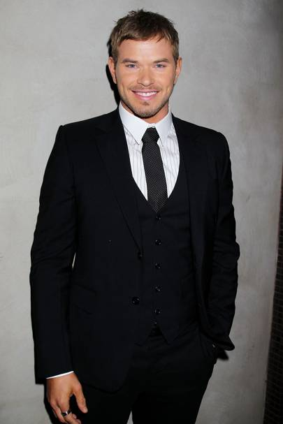 Kellan Lutz at the New York premiere of Breaking Dawn 2