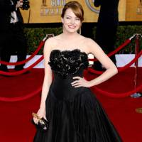 Emma Stone at the SAGs 2012