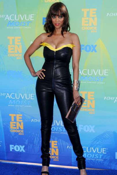 DON'T #8: Tyra Banks at the Teen Choice Awards, August