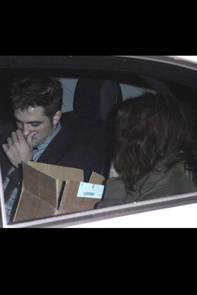 Robert Pattinson & Kristen Stewart at the UK Premiere of Breaking Dawn 2