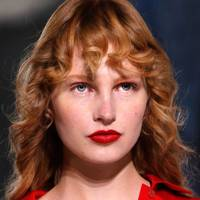 Sheeny red lips at Hermes