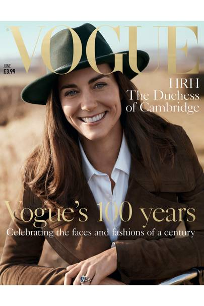 May: The Duchess covers Vogue