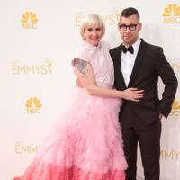 Jack Antonoff and Lena Dunham