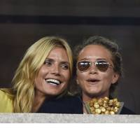 Heidi Klum & Mary-Kate Olsen