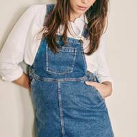 Best Maternity Overalls - Dungaree Dress