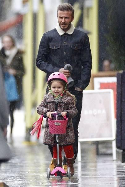 Harper Beckham News Pictures