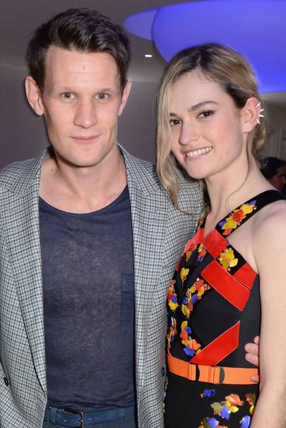 Matt Smith & Lily James