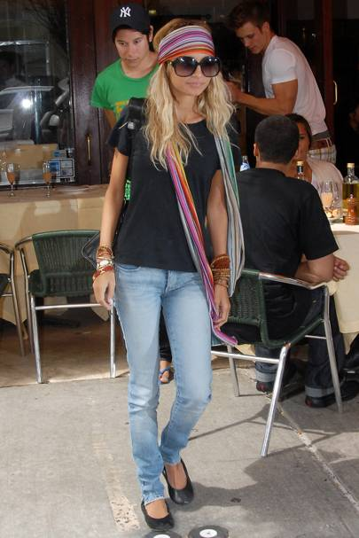 Nicole Richie S Style Evolution Glamour Uk