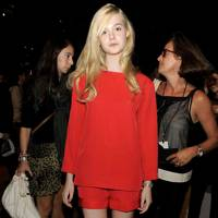 Lady In Red - Elle Fanning