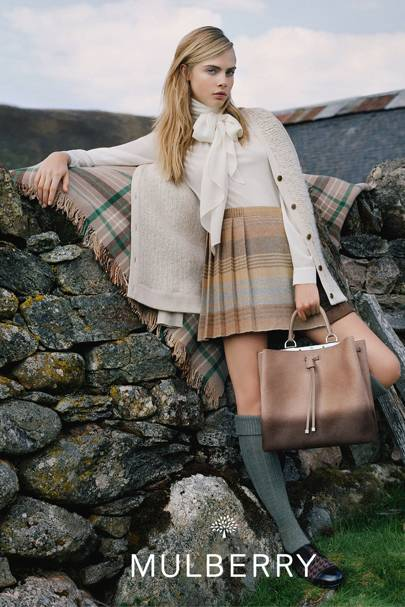 6620ec81fbf9 Press play to see Cara Delevingne gallivant around the Scottish Highlands -  chosen for its dense beauty