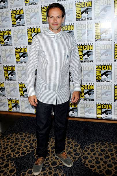 Jonny Lee Miller at Comic-Con 2012