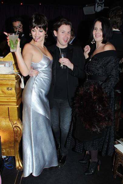 Pixie Geldof and Christopher Kane