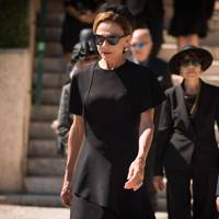 The 'funeral chic' dress