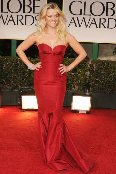 Reese Witherspoon at the Golden Globes 2012