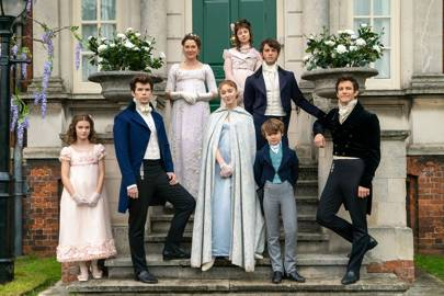 Now this is a costume drama! Here's our exclusive first look at Netflix's big new show, Bridgerton