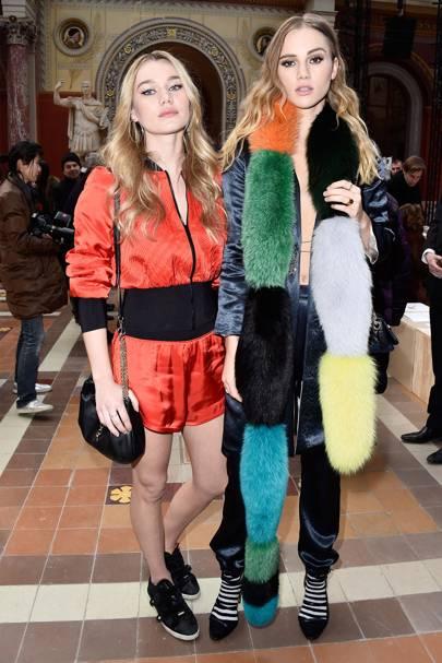 Imogen and Suki Waterhouse