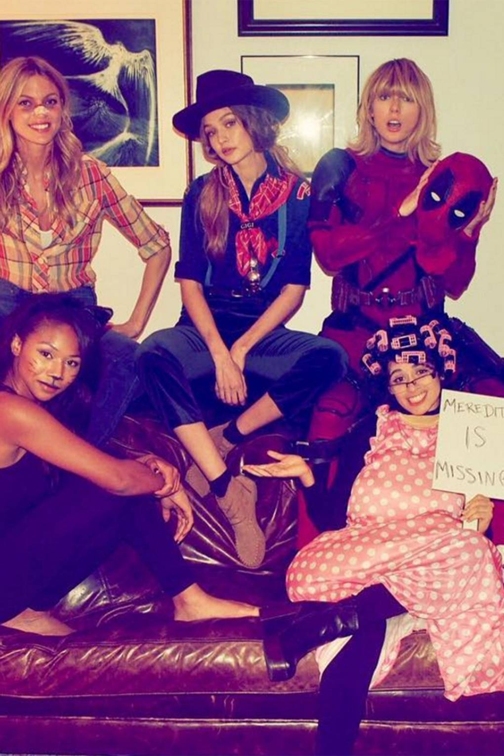 taylor swift halloween party 2016 - squad pictures | glamour uk