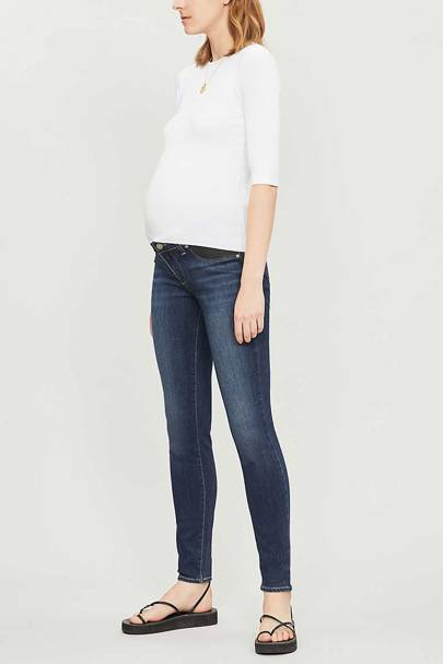 Best Maternity Jeans - Mid Rise