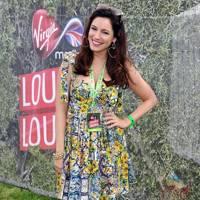 Kelly Brook in the Virgin Media Louder Lounge 2012