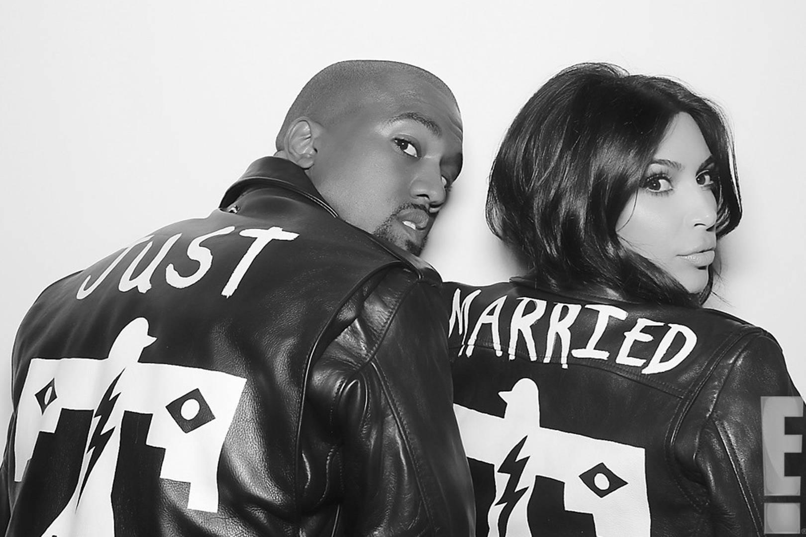 Kim Kardashian Wedding To Kanye West Engagement Anniversary Pictures Glamour Uk