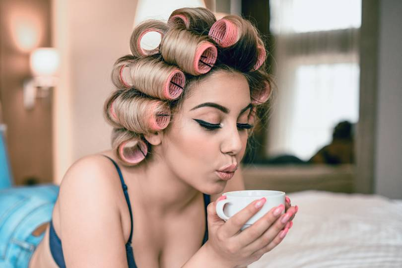 How To Use Hair Rollers For Big Bouncy Hair Glamour Uk