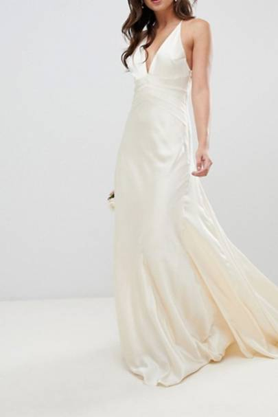 Best ASOS wedding dress for keeping things simple
