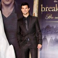 Taylor Lautner at the Berlin premiere