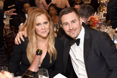 May: Amy Schumer and Ben Hanisch