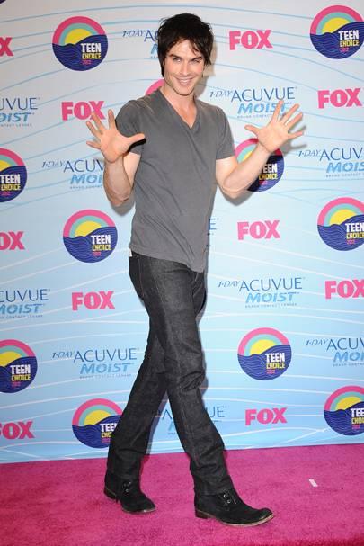Ian Somerhalder at the Teen Choice Awards 2012