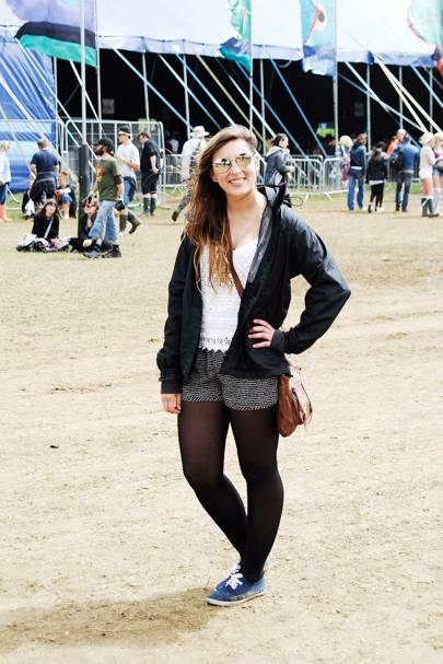 Samira Sharples, Student, Isle of Wight Festival