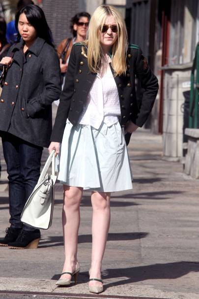 DON'T #2: Dakota Fanning out and about in New York, March