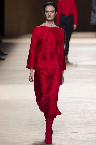 THE COLOUR: Red