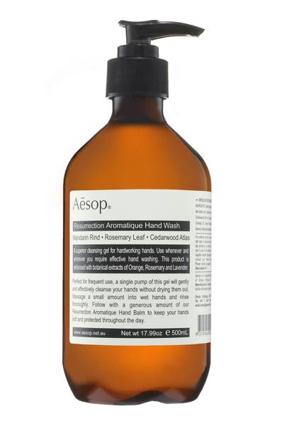 Aesop Resurrection Handwash, £27