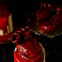 Bleeding Hearts Cake