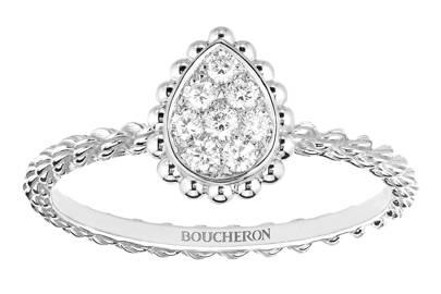 Victoria Beckham-Inspired Engagement Rings - Tear-Drop Shape