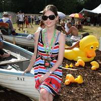 Sophie Ellis-Bextor in the Virgin Media Louder Lounge 2012