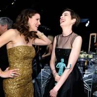 Anne Hathaway & Jennifer Garner