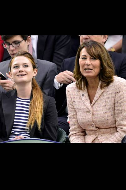 Bonnie Wright & Carole Middleton