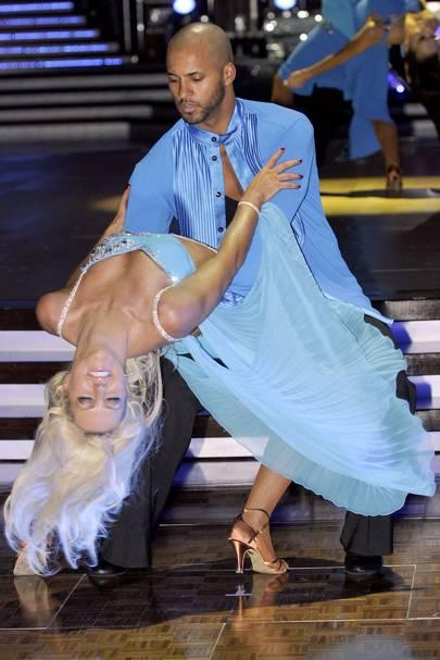Ricky Whittle & Natalie Lowe