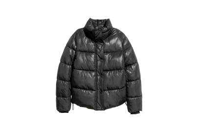 Puffer season is back and this slightly cropped option will take you right through to Spring.