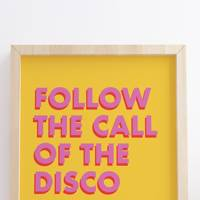 Best wall art: for the boogie lover