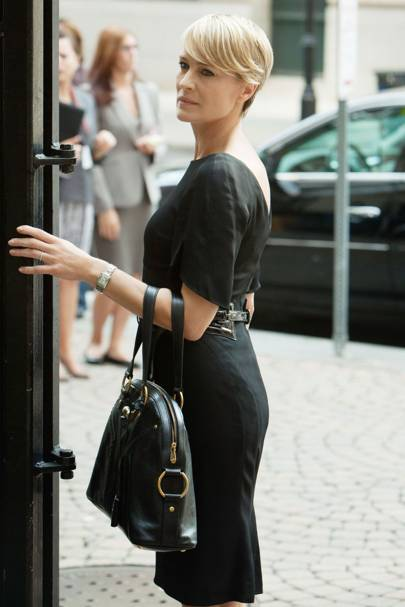 Claire Underwood's pencil dress